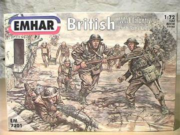 Emhar 1/72 7201 WWI British Infantry and Tank Crew
