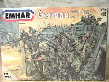 Emhar 1/72 7203 WWI German Infantry and Tank Crew