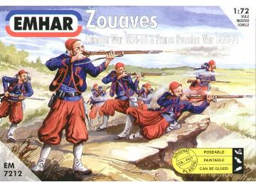 Emhar 1/72 7212 Zouaves Crimean & Franco Prussian Wars