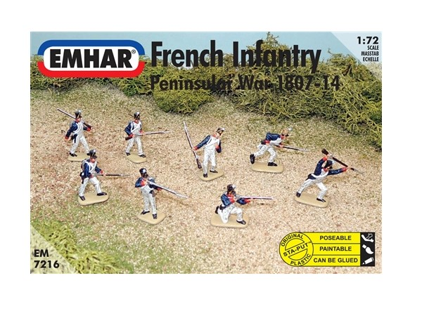 Emhar 1/72 7216 French Infantry Peninsular War  1807 - 14
