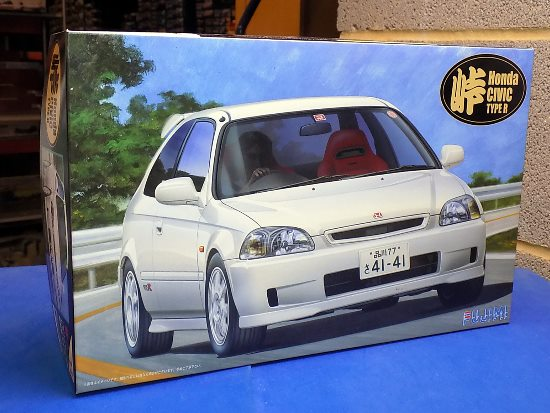 Fujimi 1/24 04601 Honda Civic Type R EK-9