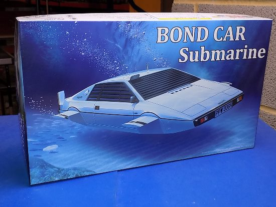 Fujimi 1/24 091921 Lotus Esprit Bond Car Submarine