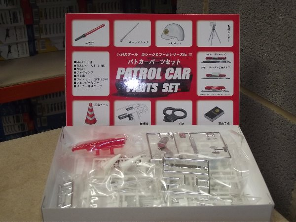 Fujimi 1/24 11105 Police Car Accessory Parts