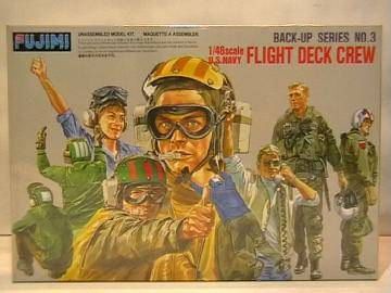 Fujimi - US Navy Flight Deck Crew 1/48 35003