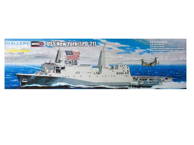 Gallery Models 1/350 64007 USS New York LPD-21