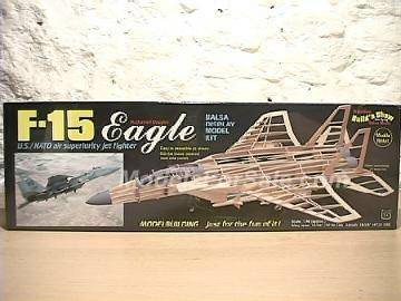 Guillows 1/40 1401 F-15 Eagle