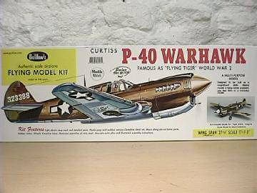 Guillows 1/16 405 P-40 Warhawk