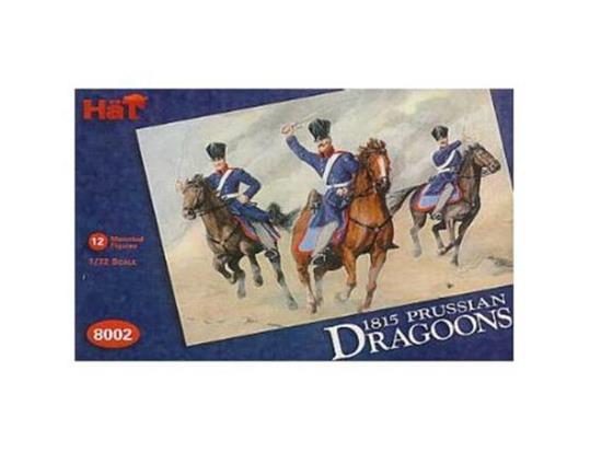 Hat 1/72 8002 Napoleonic Prussian Dragoons