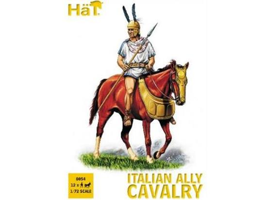 Hat 1/72 8054 Punic War Italian Ally Cavalry