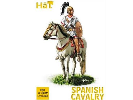 Hat Punic War Spanish Cav 1/72 8055