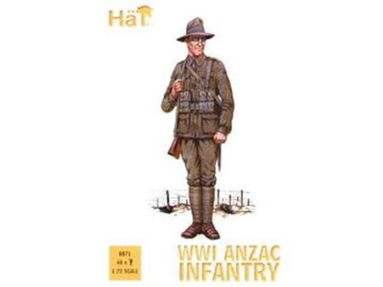 Hat 1/72 8071 WWI Anzac Infantry