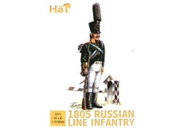 Hat 1/72 8072 Russian Line Infantry 1805