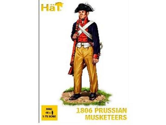 Hat - 1806 Prussian Musketeers 1/72 8083