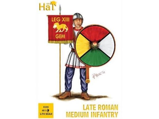 Hat 1/72 8100 Late Roman Medium Infantry