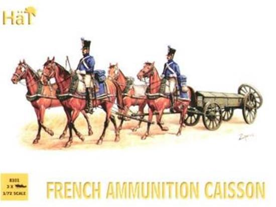 Hat - French Ammo Caisson 1/72 8101