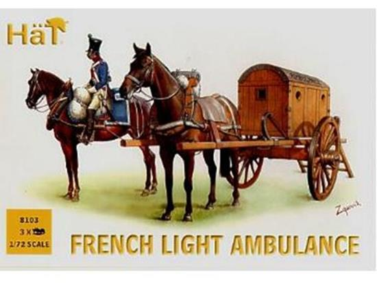 Hat - French Light Ambulance 1/72 8103