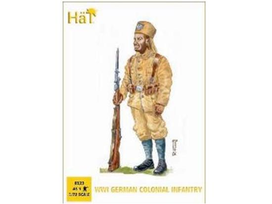 Hat 1/72 8123 WWI German Colonial Infantry