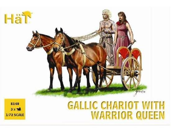 Hat 1/72 8140 Gallic Chariot with the Warrior Queen