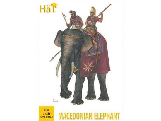 Hat 1/72 8141 Macedonian Elephant