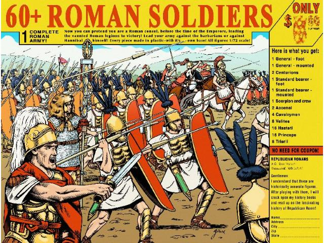 Hat 1/72 8151 Republican Roman Army