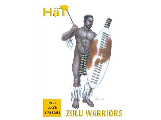 Hat 1/72 Zulu Warriors 8191