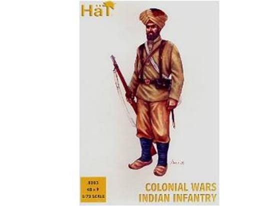 Hat - Colonial Wars Indian Infantry 1/72 8203