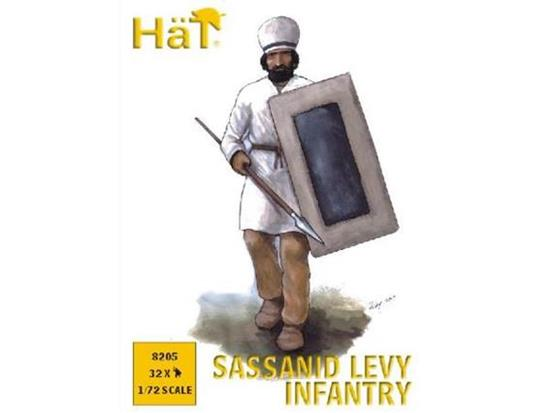 Hat 1/72 8205 Sassanid Levy Infantry