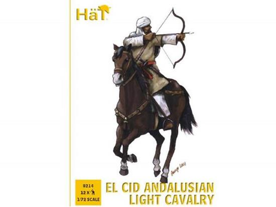 Hat 1/72 8214 El Cid Andalusian Light Cavalry