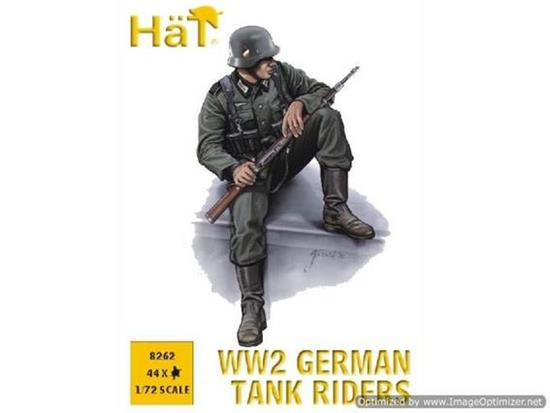 Hat WWII German Tank Riders 8262