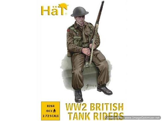 Hat 1/72 8264 WWII British Tank Riders