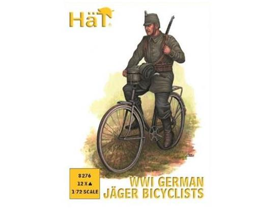Hat 1/72 8276 WWI German Jaeger Bicyclists