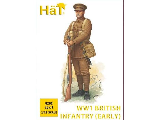 Hat 1/72 8292 WWI British Infantry Early