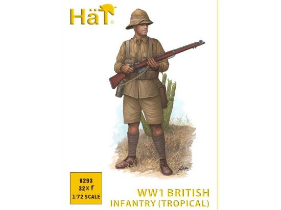 Hat 1/72 8293 WWI British Infantry Tropical