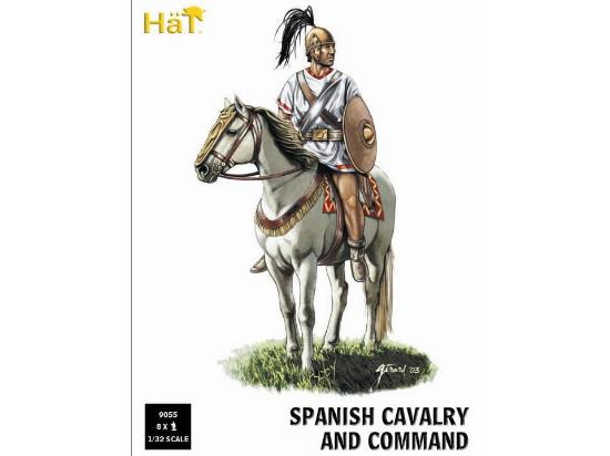 Hat 1/32 9055 Spanish Cavalry and Command