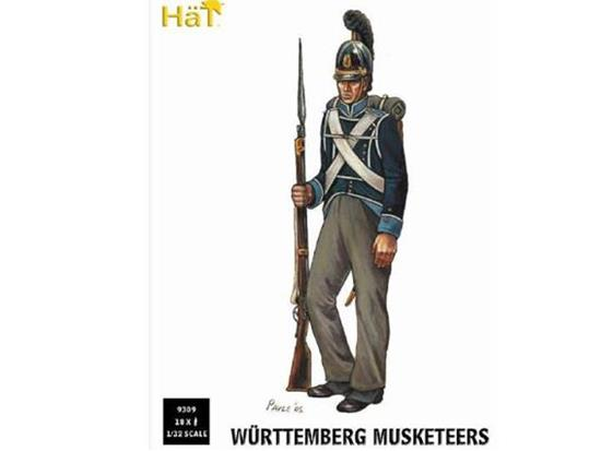 Hat 1/32 9309 Napoleonic Wurttemberg Musketeers