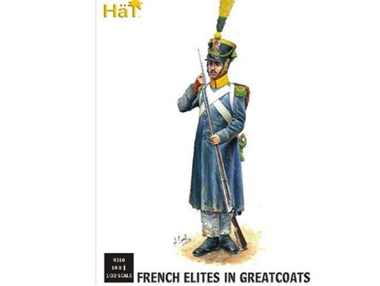 Hat 1/32 9310 Napoleonic French Light Infantry/Elites in Greatcoats