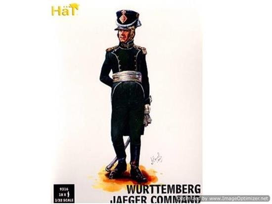 Hat 1/32 9316 Wurttemberg Jaeger Command