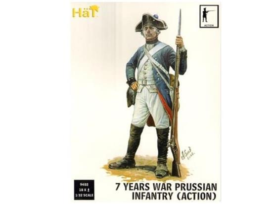 Hat 1/32 9402 7 Years War Prussian Infantry Action