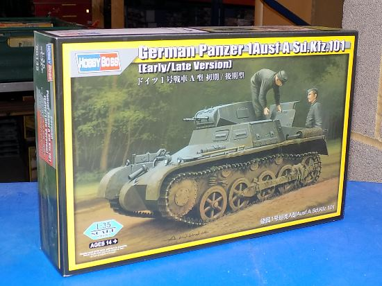 Hobbyboss 1/35 80145 Pz.Kpfw A Sd.Kfz.101 (Early / Late)