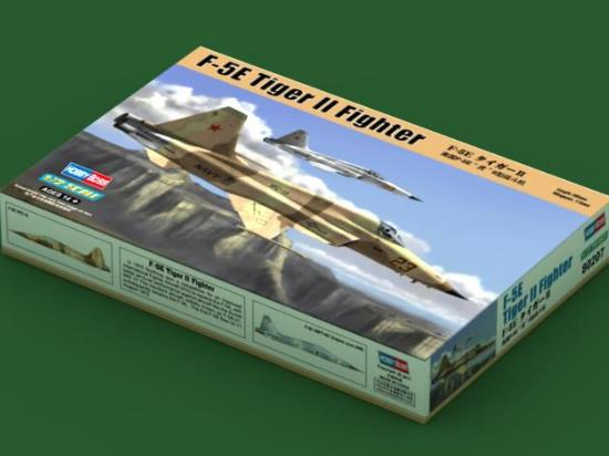 Hobbyboss 1/72 80207 F-5E Tiger II Fighter