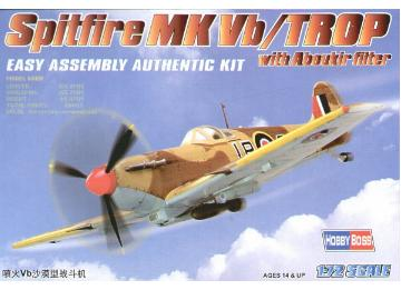 Hobbyboss 1/72 80214 Spitfire Mk VB Trop w/ Filter