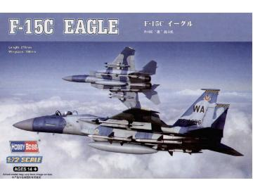 Hobbyboss 1/72 80270 F-15C Eagle