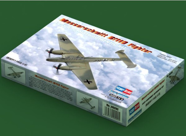 Hobbyboss 1/72 80292 Messerschmitt Bf110 Fighter