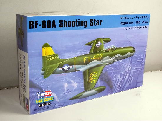 Hobbyboss 1/48 81724 RF-80A Shooting Star