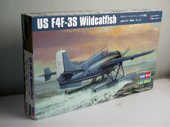 Hobbyboss 1/48 81729 US F4F-3S Wildcatfish