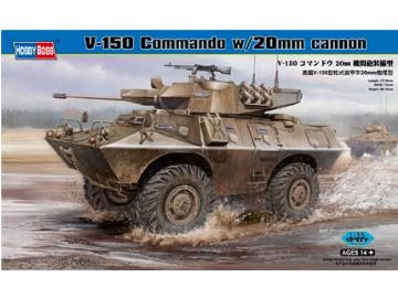 Hobbyboss 1/35 82420 V-150 Commando APC with 20mm Cannon
