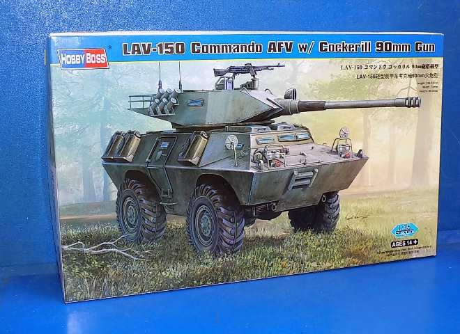 Hobbyboss 1/35 82422 LAV-150 Commando AFV 90mm Cockerill gun