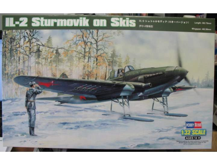 Hobbyboss IL-2 Sturmovik on Skis 1/32 83202