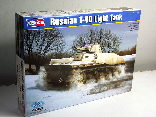 Hobbyboss 1/35 Russian T-40 Light Tank 83825