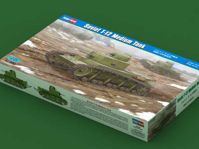 Hobbyboss 1/35 83887 Soviet T-12 Medium Tank